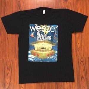 Weezer x Pixies 2018 Summer Tour Merch Tee Shirt
